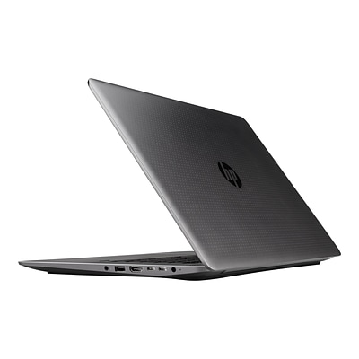 HP® ZBook Studio G3 15.6 Mobile Workstation; FHD IPS, Intel Core i7, 256GB SSD, 8GB RAM, Windows 7 Pro, Silver