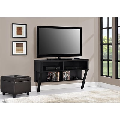 Altra Layton Wall Mounted 47 TV Stand, Black Oak (1756096PCOM)