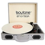 boytone  Mobile Briefcase Record Turntable;