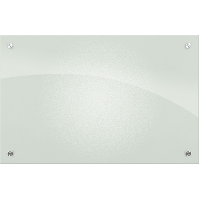 Best-Rite™ Enlighten™ Glass Dry-Erase Boards, Frosted Pearl, 24x36