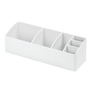 InterDesign Med+ Bathroom Medicine Cabinet Organizer, White (42731)