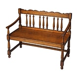 Butler Cather Bench; Cherry