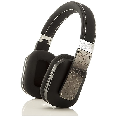 Bem Freedom RG72301 Over-the-Head Wireless Bluetooth Stereo Headphone; Black/Brushed Silver