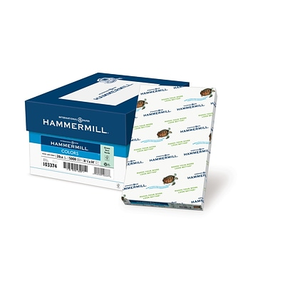 HammerMill® Fore® MP Color Paper, 8 1/2 x 14, Green, Ream