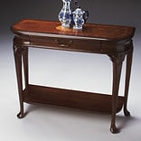 Butler Ridgeland Console Table; Plantation Cherry