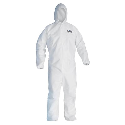 KleenGuard® A30 Breathable Splash & Particle Protection Coverall; White; 2XL