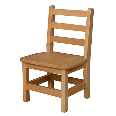 Wood Designs™ 11(H) Hardwood Chair, 2/Pack