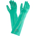 Ansell Sol-Vex® 37-185 Nitrile Gloves; Size Group 8, 12/Pair