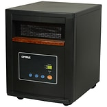 Optimus H-8012 1500 W Infrared Zone Heating System With Remote; Black