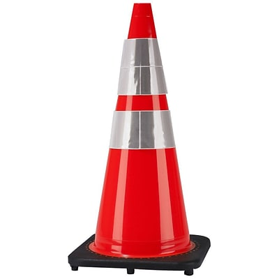 Cortina Safety Cone, 28 Cone With 2 Reflective Collars