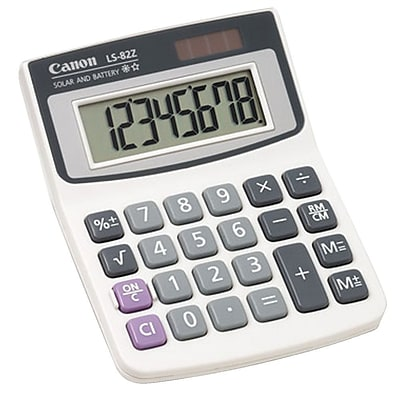 Canon 4075A007AA LS-82Z 8-Digit Display Calculator, White