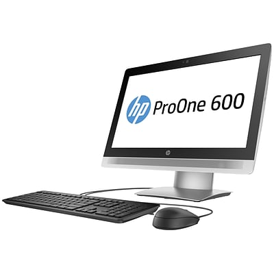 HP® ProOne 600 G2 Intel i5-6500 Quad-Core 1TB HDD 8GB Windows 7 Professional All-in-One Computer