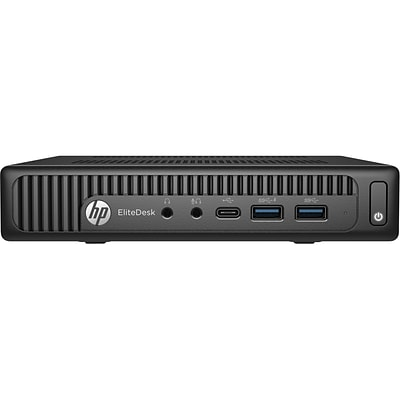 HP® EliteDesk 800 G2 Intel i5-6500T Quad-Core 500GB HDD 4GB Windows 10 Pro Desktop Computer