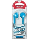 Maxell  Jelleez 191568 Wired Stereo Dynamic Earset; Blue