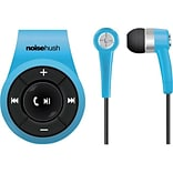 NoiseHush  (NS560-11976) Bluetooth Clip-On Stereo Headset with Microphone; Blue
