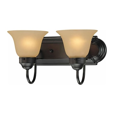 Aurora Lighting A19 Bath Vanity Lamp; Antique Bronze(STL-VME915929)