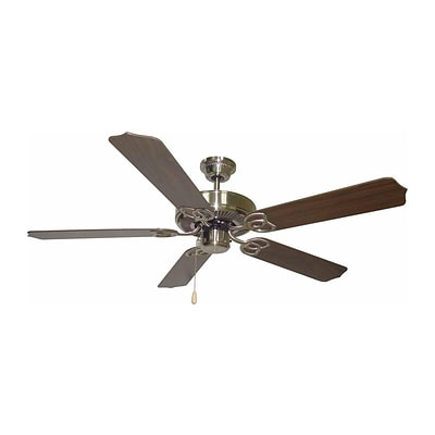 Aurora Lighting 13 Ceiling Fan Brushed Nickel (STL-VME361559)
