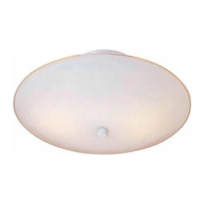 Aurora Lighting Incandescent Flush Mount, White (STL-VME619117)