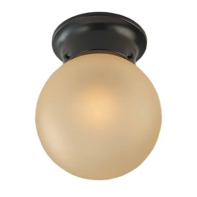 Aurora Lighting Incandescent Flush Mount, Antique Bronze (STL-VME973127)