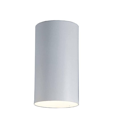 Aurora Lighting Incandescent Flush Mount, White (STL-VME610152)
