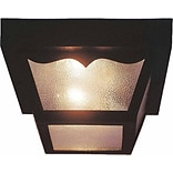 Aurora Lighting A19 Outdoor Flush Mount Lamp (STL-VME597620)