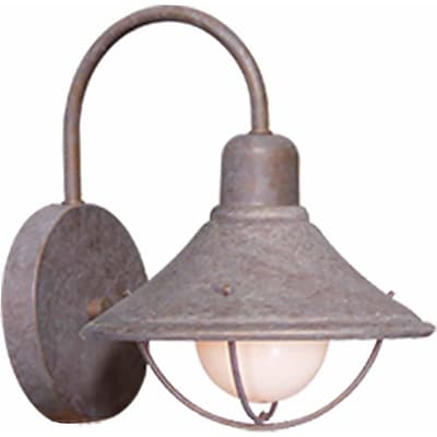 Aurora Lighting A19 Outdoor Wall Sconce Lamp (STL-VME791219)