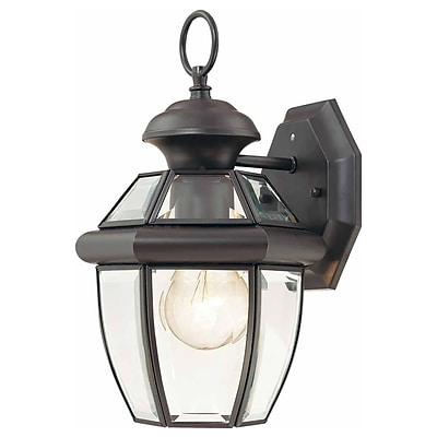 Aurora Lighting A19 Outdoor Wall Sconce Lamp (STL-VME992791)