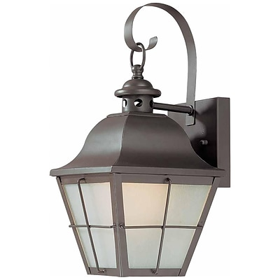 Aurora Lighting A19 Outdoor Wall Sconce Lamp (STL-VME990315)