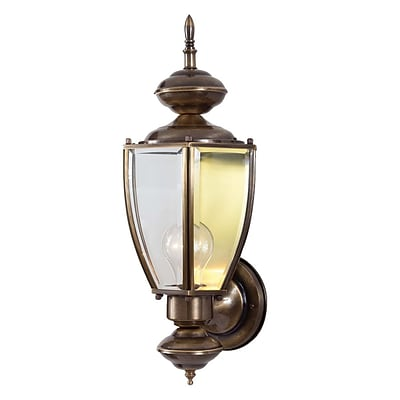 Aurora Lighting A19 Outdoor Wall Sconce Lamp (STL-VME792513)