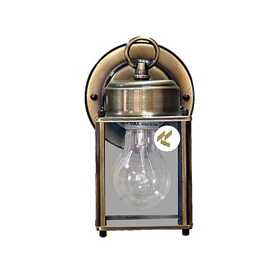 Aurora Lighting A19 Outdoor Wall Sconce Lamp (STL-VME292709)