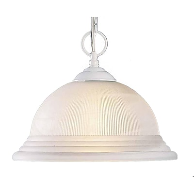 Aurora Lighting Incandescent Pendant, White (STL-VME617205)