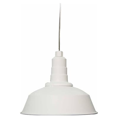 Aurora Lighting Incandescent Pendant, White (STL-VME694121)