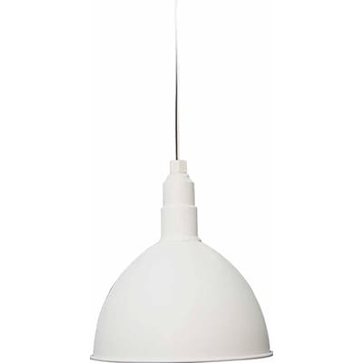 Aurora Lighting Incandescent Pendant, White (STL-VME694220)