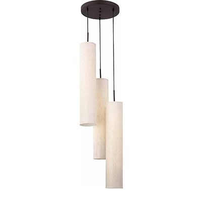 Aurora Lighting Fluorescent Pendant, Antique Bronze (STL-VME940068)