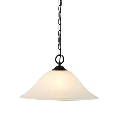 Aurora Lighting Incandescent Pendant, Antique Bronze (STL-VME918708)