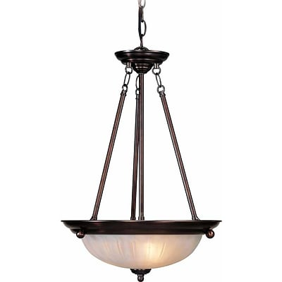 Aurora Lighting Incandescent Pendant; Antique Bronze (STL-VME322833)