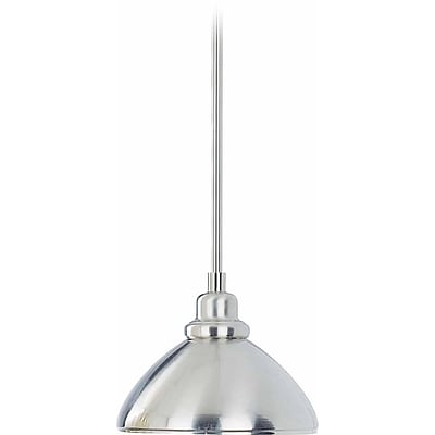 Aurora Lighting Incandescent Pendant, Brushed Nickel (STL-VME318775)