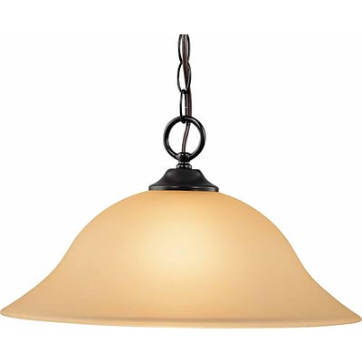 Aurora Lighting Incandescent Pendant, Antique Bronze (STL-VME918692)