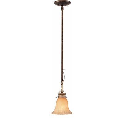 Aurora Lighting Incandescent Pendant; Vintage Bronze And Antique Gold (STL-VME242414)