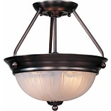 Aurora Lighting Incandescent Semi-Flush, Antique Bronze (STL-VME377628)