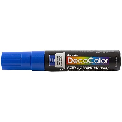 JAM Paper® Jumbo Point Acrylic Paint Marker - Blue - Sold Individually