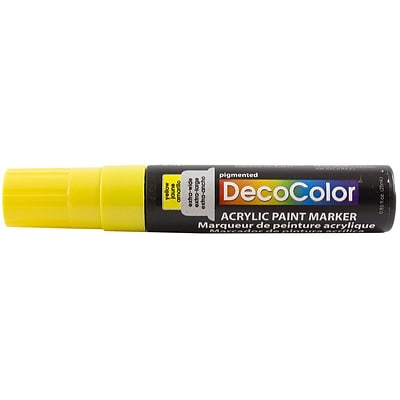 JAM Paper® Jumbo Point Acrylic Paint Marker - Yellow - Sold Individually