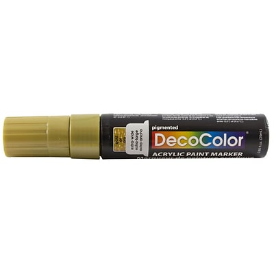 JAM Paper® Jumbo Point Acrylic Paint Marker - Gold - Sold Individually