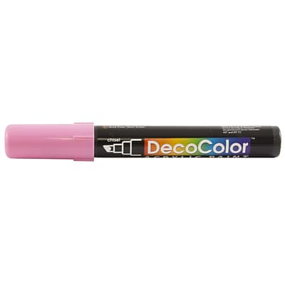 JAM Paper® Chisel Tip Acrylic Paint Marker - Bubblegum Pink - Sold Individually