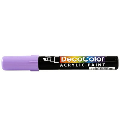 JAM Paper® Chisel Tip Acrylic Paint Marker - Wisteria Purple - Sold Individually
