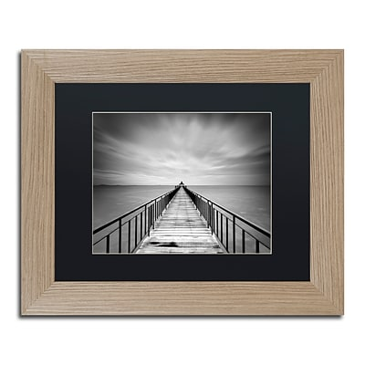 Trademark Fine Art Withstand by Michael de Guzman 11 x 14 Black Matted Wood Frame (886511838383)