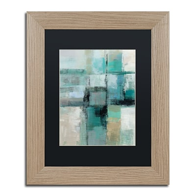 Trademark Fine Art Island Hues Crop I by Silvia Vassileva 11 x 14 Black Matted Wood Frame (886511860223)