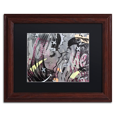 Trademark Fine Art And Only by Dan Monteavaro 11 x 14 Black Matted Wood Frame (886511778719)