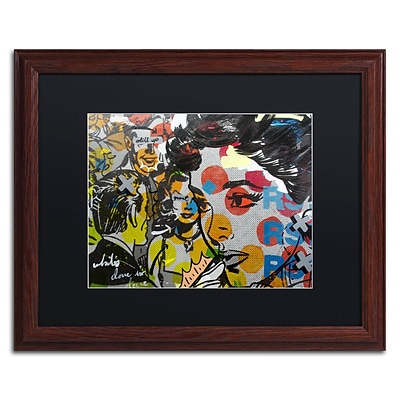 Trademark Fine Art Dinner PA by Dan Monteavaro 16 x 20 Black Matted Wood Frame (886511779082)