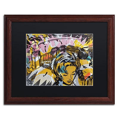 Trademark Fine Art Surprise B by Dan Monteavaro 16 x 20 Black Matted Wood Frame (886511780071)